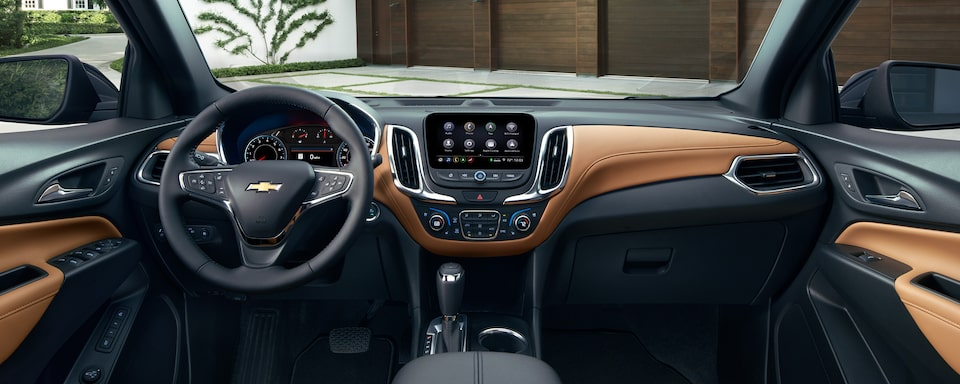 2021 Equinox SUV Interior Dashboard