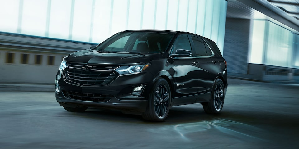 2021 Equinox SUV Front Driver's Side Driving Shot