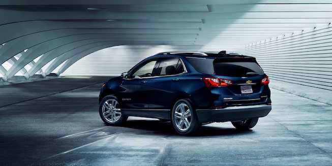 2021 Equinox SUV Back Passenger Side Shot
