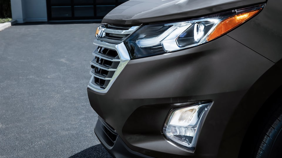 Chevy Equinox with Intellibeam Headlamp On