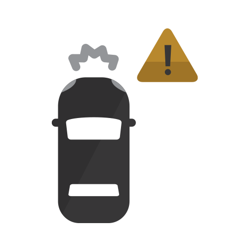 Forward Collision Alert and Automatic Emergency Braking Icon hover