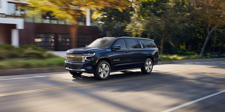 2021 Suburban Safety Features