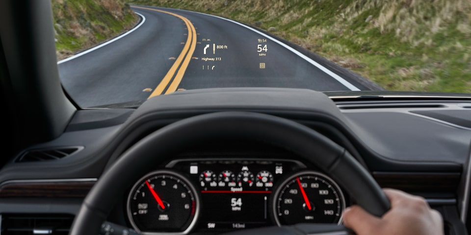 2021 Suburban technology - heads up display