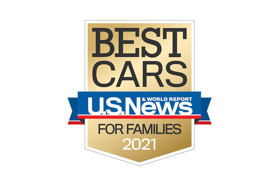 U.S. News Best Large SUV for Families Award