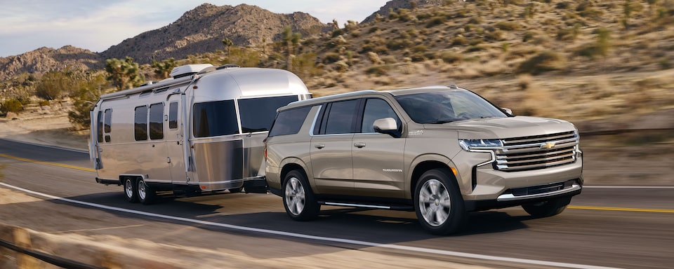 2021 Suburban towing capability