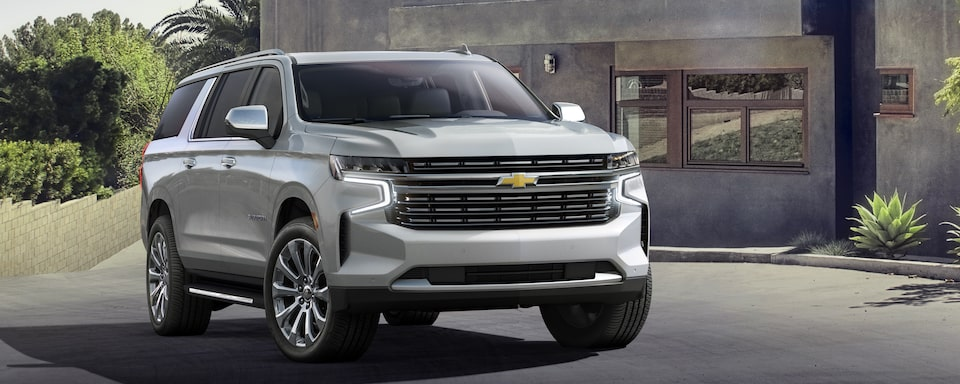 All-New 2021 Chevy Suburban & Tahoe | Built For Families