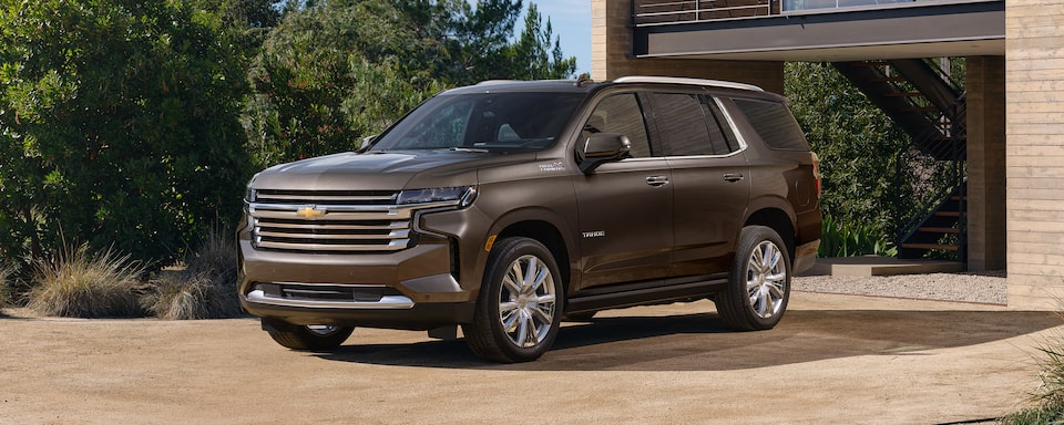 2021 Tahoe Exterior Front Side Profile