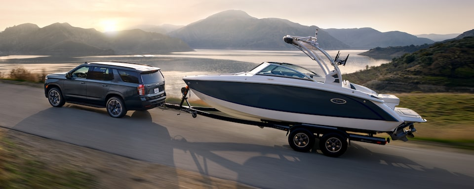 2021 Tahoe Performance - Towing a Boat