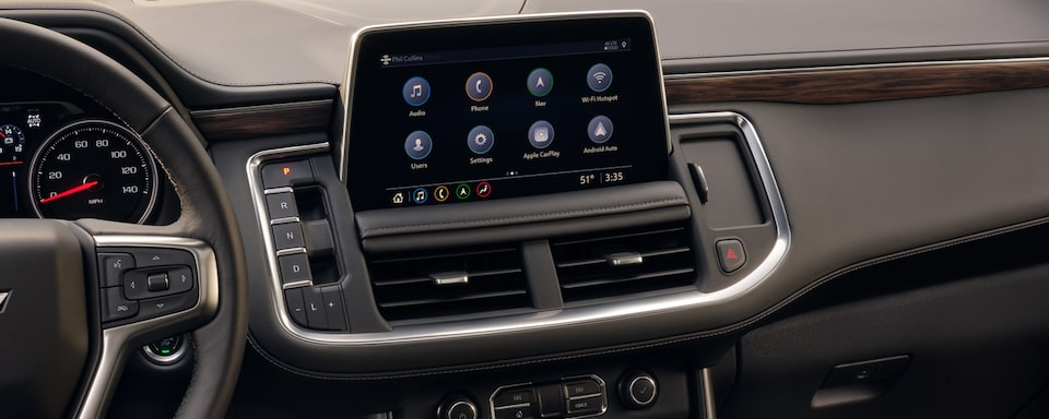 2021 Tahoe Technology - Infotainment System