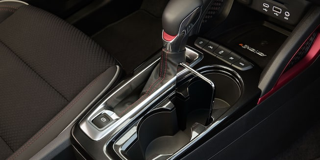 2021 Chevy Trailblazer Interior Cup Holder and Shift Stick