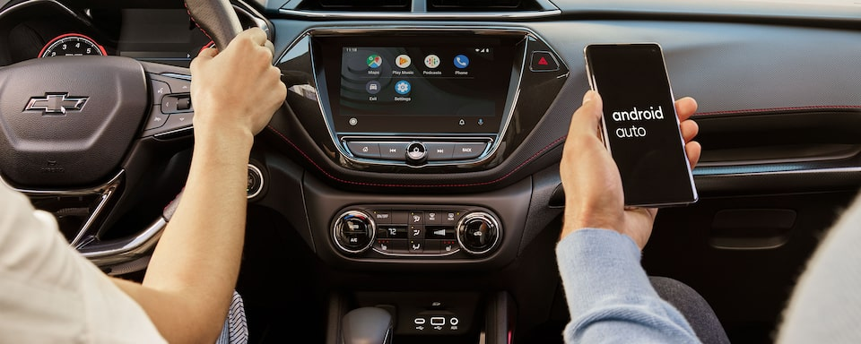 2021 Chevrolet Trailblazer Android Auto & Infotainment System