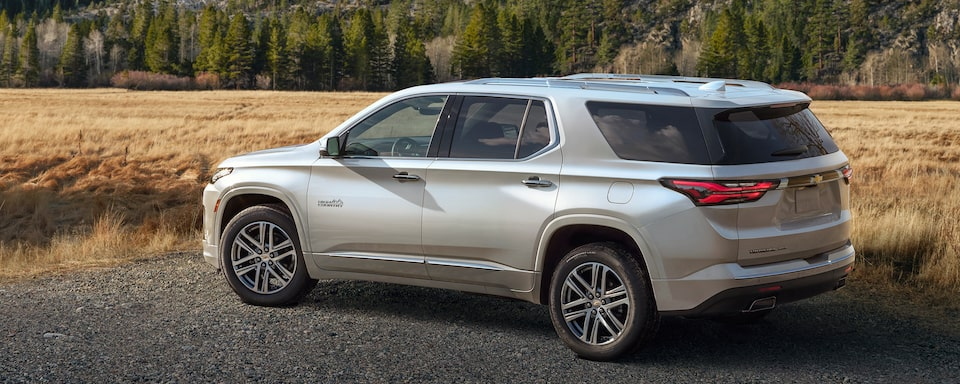 The 2021 MCE Chevy Traverse Has Arrived