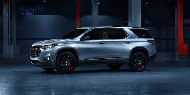 2021 Chevy Traverse Exterior Photo: Redline Special Edition