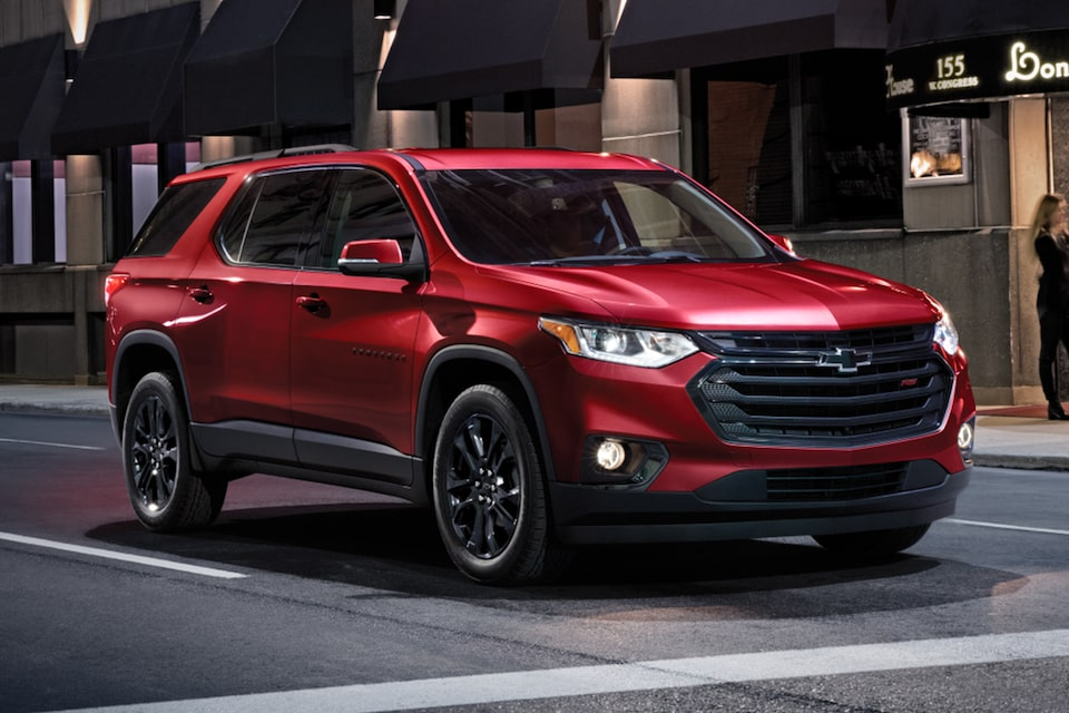 2021 Chevy Traverse RS Edition