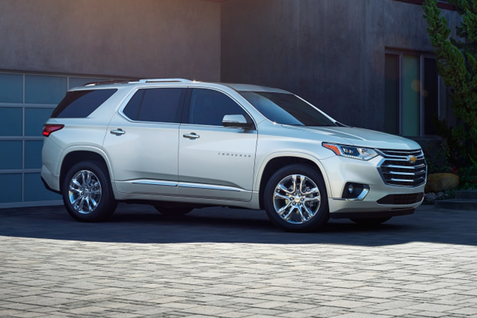 2021 Chevy Traverse High Country Edition