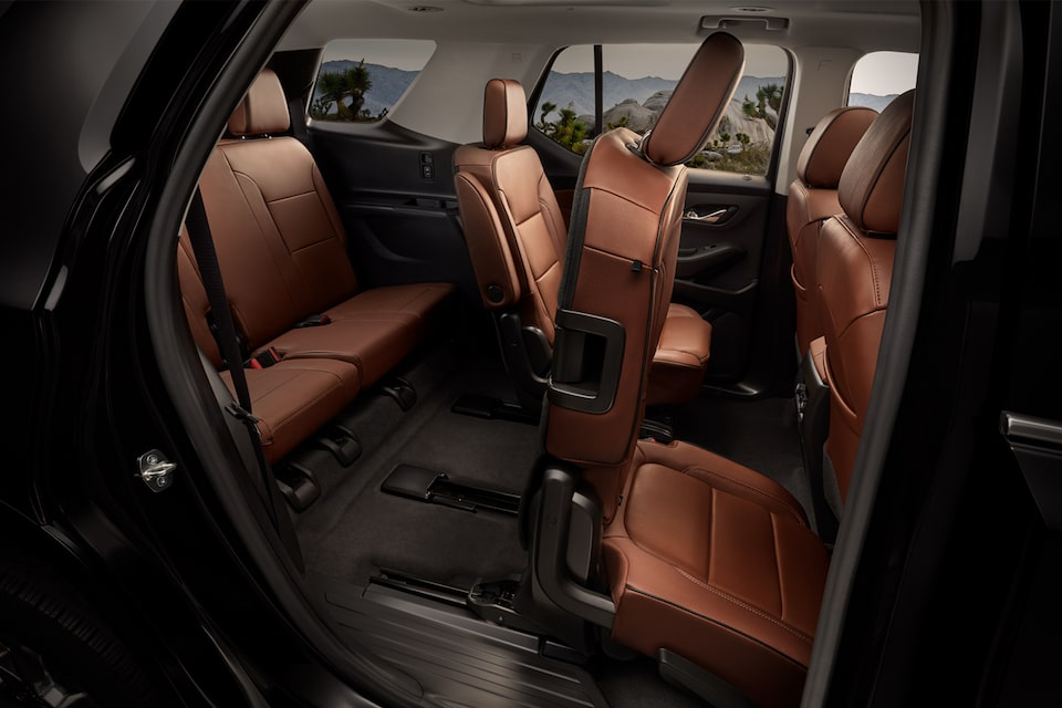 2021 Chevy Traverse: Smart Slide Seating