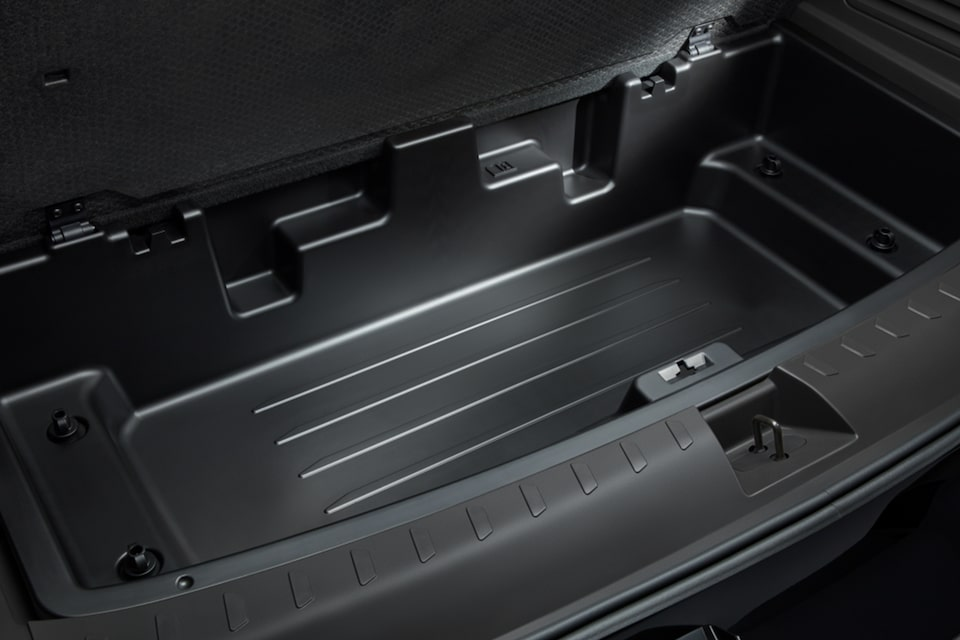 2021 Chevy Traverse: Hidden Storage