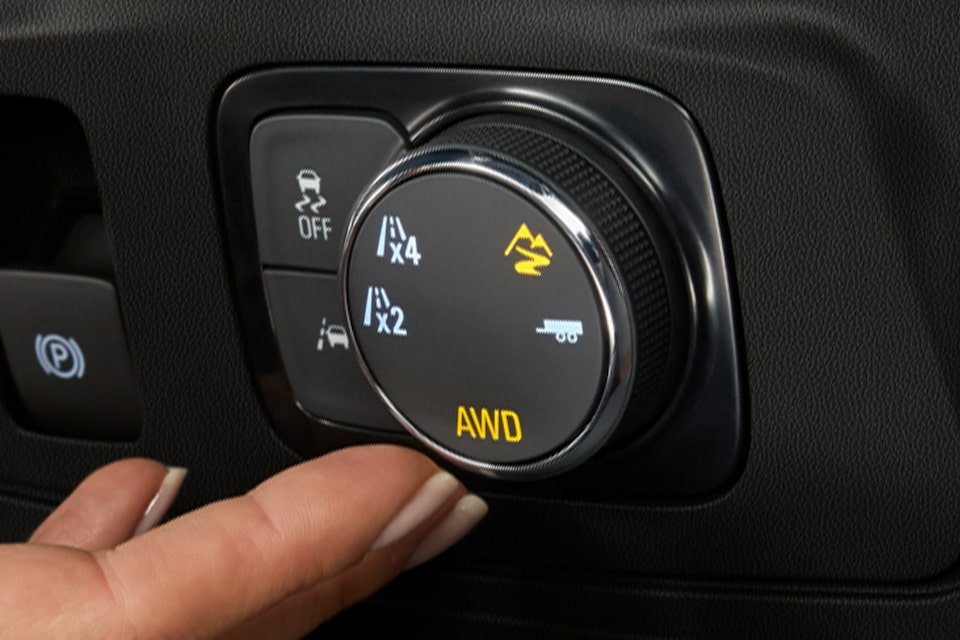 2021 Chevy Traverse: Traction Mode Select