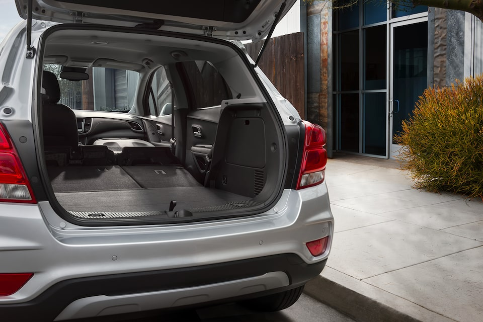 2021 Chevy Trax Cargo Volume: Rear Seats Folded Down