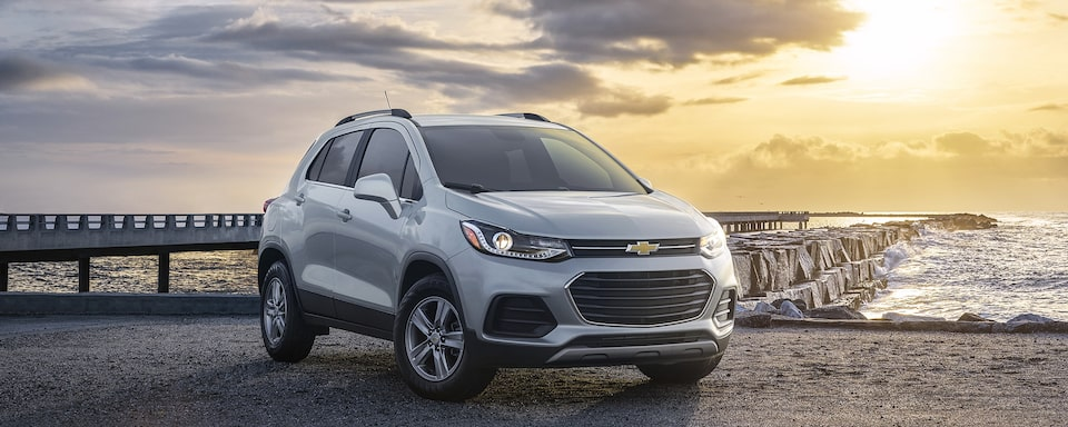 2021 Chevy Trax Front Angle View