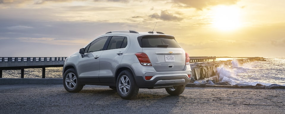 2021 Chevy Trax Rear Angle View