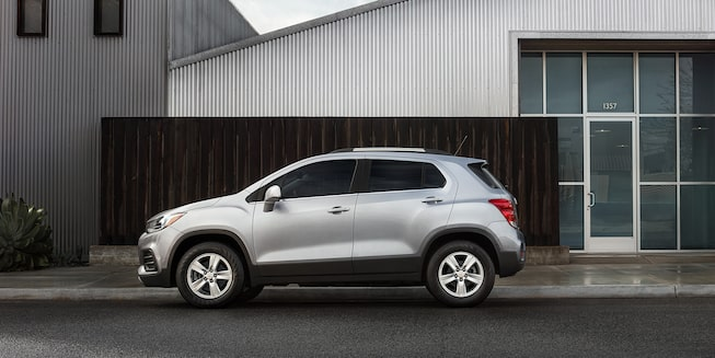 2021 Chevy Trax Exterior Photo: Side Profile