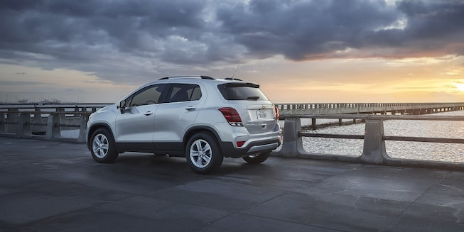 2021 Chevy Trax Exterior Photo: Rear Angle View