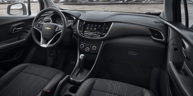 2021 Chevy Trax Interior Photo: Front Seats