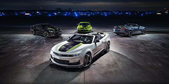 2021 Chevy Camaro Exterior Gallery: Shock & Steel Special Editions