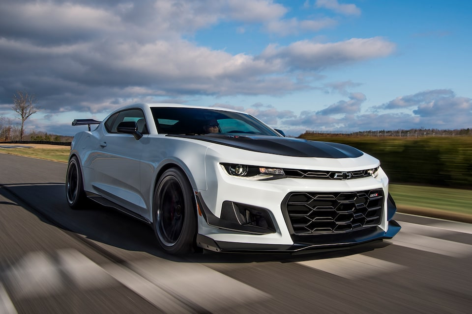 2021 Chevy Camaro Design: Front Grille