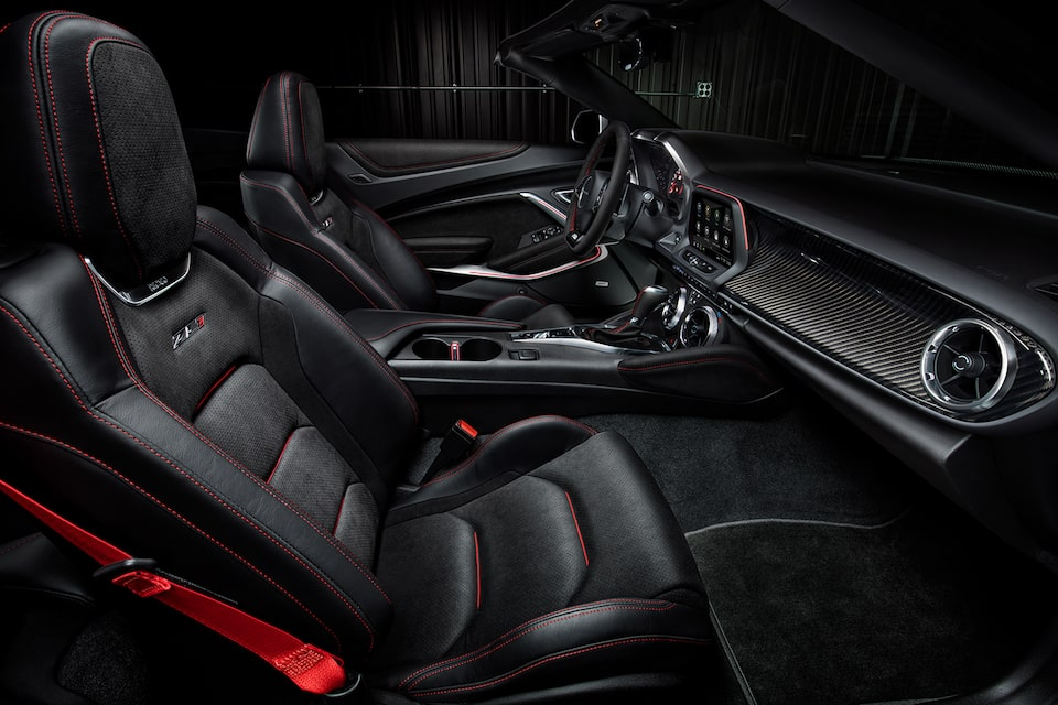 2021 Chevy Camaro Design: Interior Front Seats