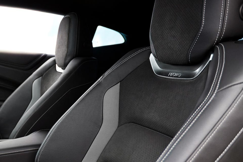 2021 Chevy Camaro Design: Interior Seats