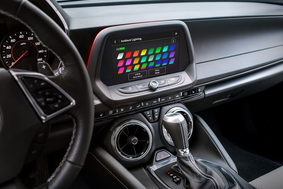 2021 Chevy Camaro Design: Ambient Lighting Choices