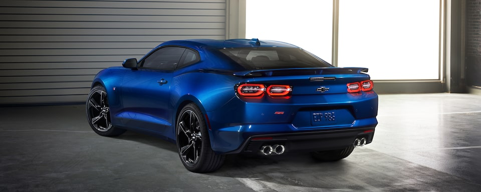 2021 Chevy Camaro Rear View