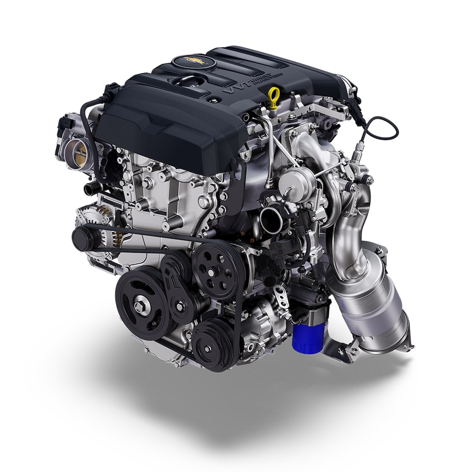 2021 Chevy Camaro: 2.0L Turbo Engine