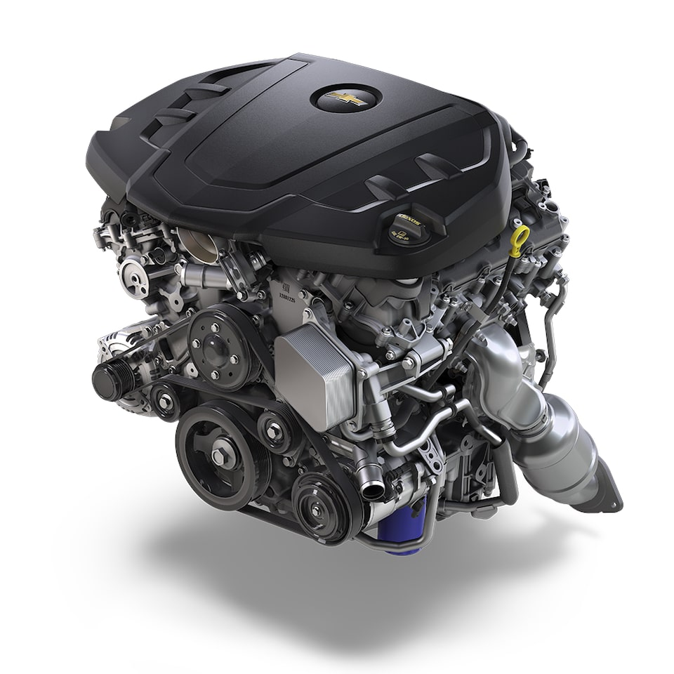2021 Chevy Camaro: 3.6L V6 Engine