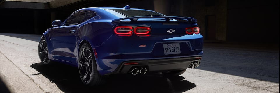 2021 Chevy Camaro Trims: SS