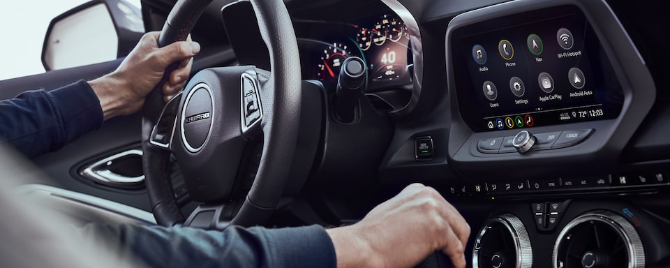 2021 Chevy Camaro Driver Centric Technology