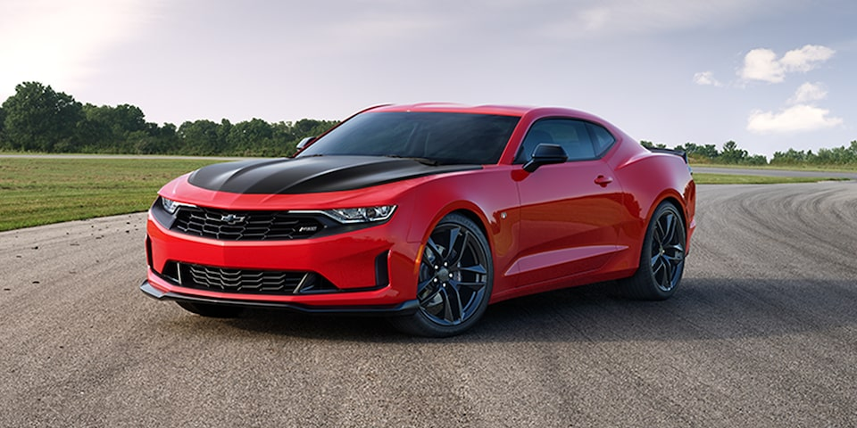 2021 Chevy Camaro Technology: Launch Control