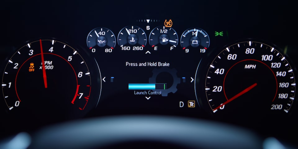 2021 Chevy Camaro Technology: Custom Launch Control