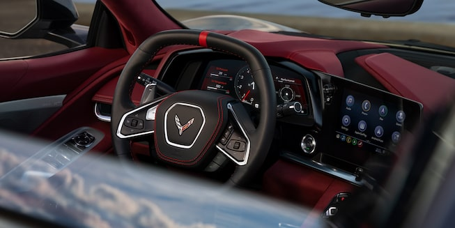 2021 Chevrolet Corvette Sports Car: dashboard