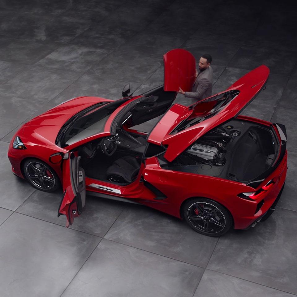 2021 corvette stingray   mid-engine sports car   chevrolet