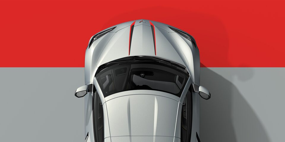 2021 Chevrolet Corvette Full Length Dual Racing Stripes