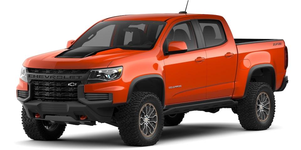 introducing the 2021 colorado  midsize truck