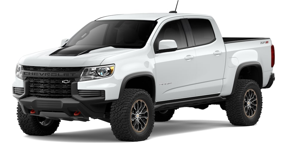 2021 Chevrolet Colorado in Summit White