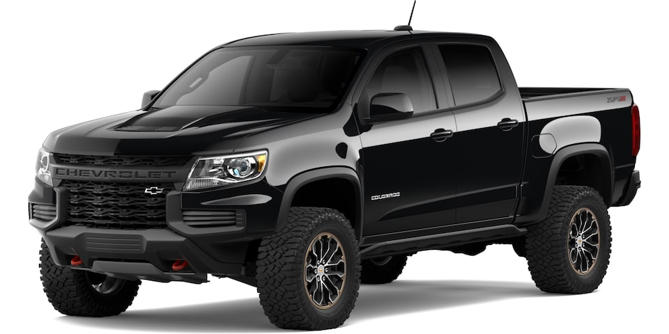 2021 Chevrolet Colorado in Black
