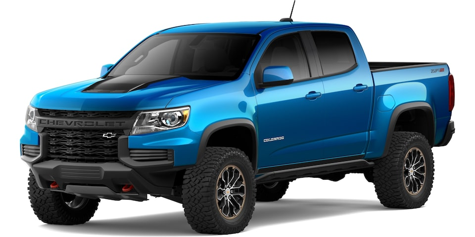 2021 Chevrolet Colorado in Bright Blue Metallic