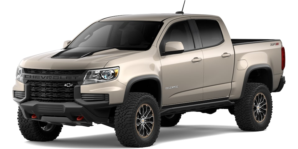 2021 Chevrolet Colorado in Sand Dune Metallic