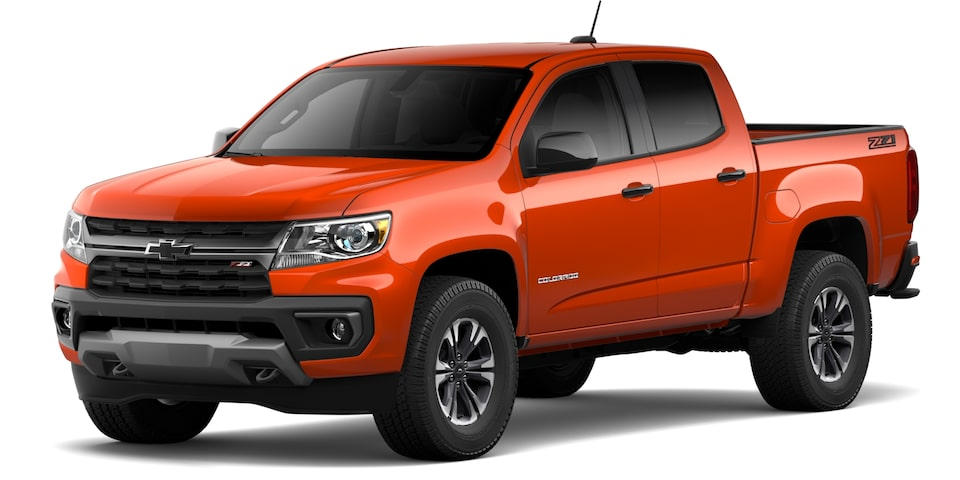 2021 Chevrolet Colorado in Crush