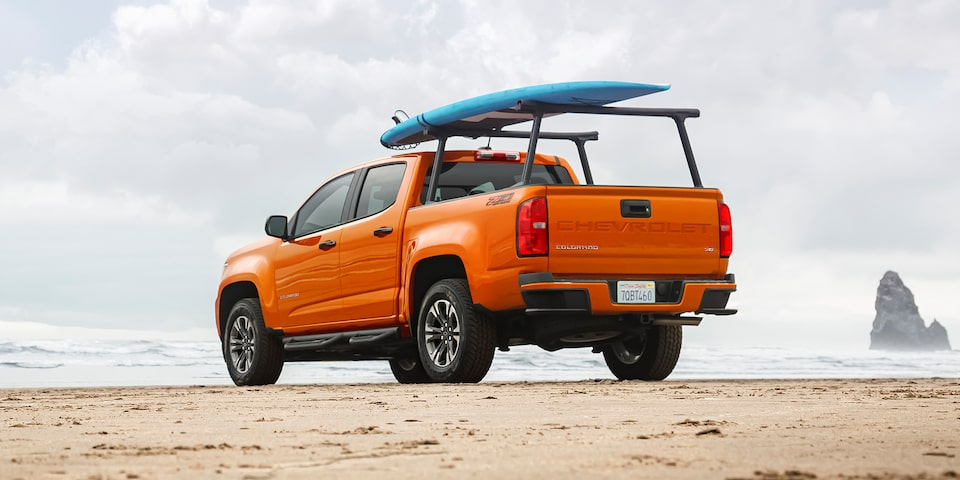 2021 Chevrolet Colorado Mid-Size Truck With Truck Bed Accessory